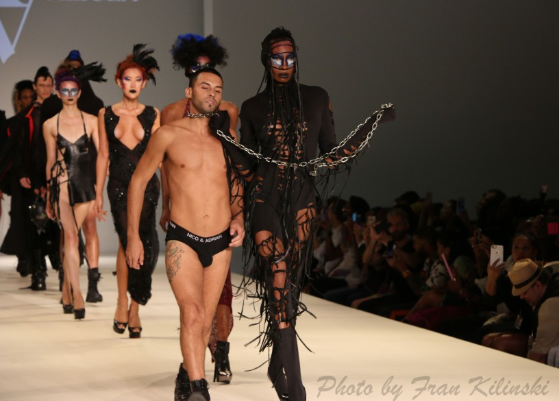 Adrian Alicea, Style Fashion Week, Hammerstein Ballroom 9/10, By Fran Kilinski Freelance Photographer New York Fashion Week 32