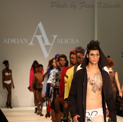 Adrian Alicea, Style Fashion Week, Hammerstein Ballroom 9/10, By Fran Kilinski Freelance Photographer New York Fashion Week 33