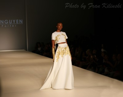 Models for Danny Nguyen, Style Fashion Week, Hammerstein Ballroom 9/10, By Fran Kilinski Freelance Photographer 8