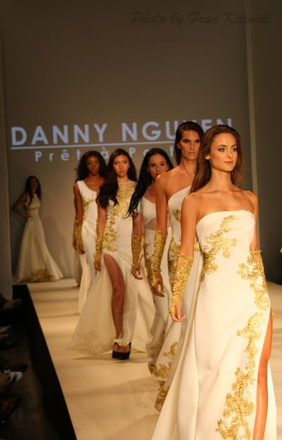 Models for Danny Nguyen, Style Fashion Week, Hammerstein Ballroom 9/10 2 By Fran Kilinski Freelance Photographer